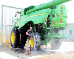 pressure wash combine